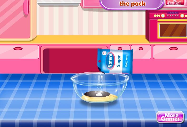 game Sofia làm bánh