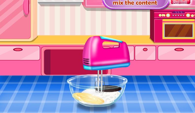 Sofia làm bánh
