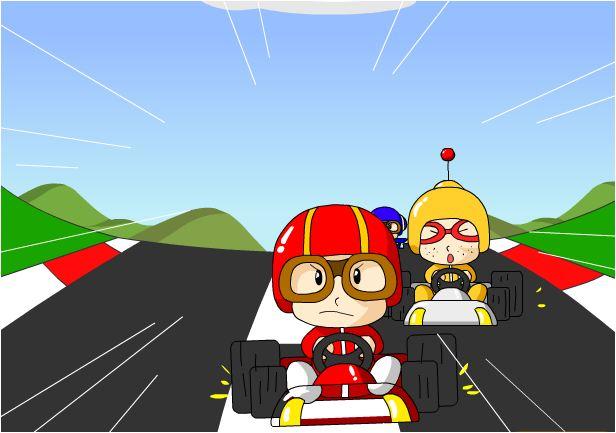 chơi game tí hon đua xe