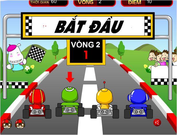 game tí hon đua xe