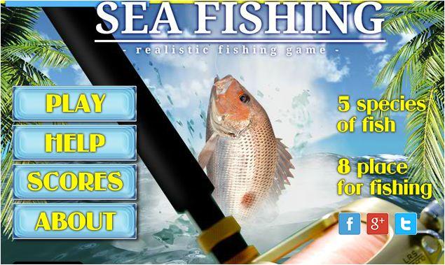 chơi game câu cá biển khơi