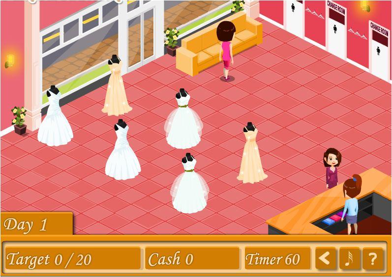 game cửa hàng váy cưới 2