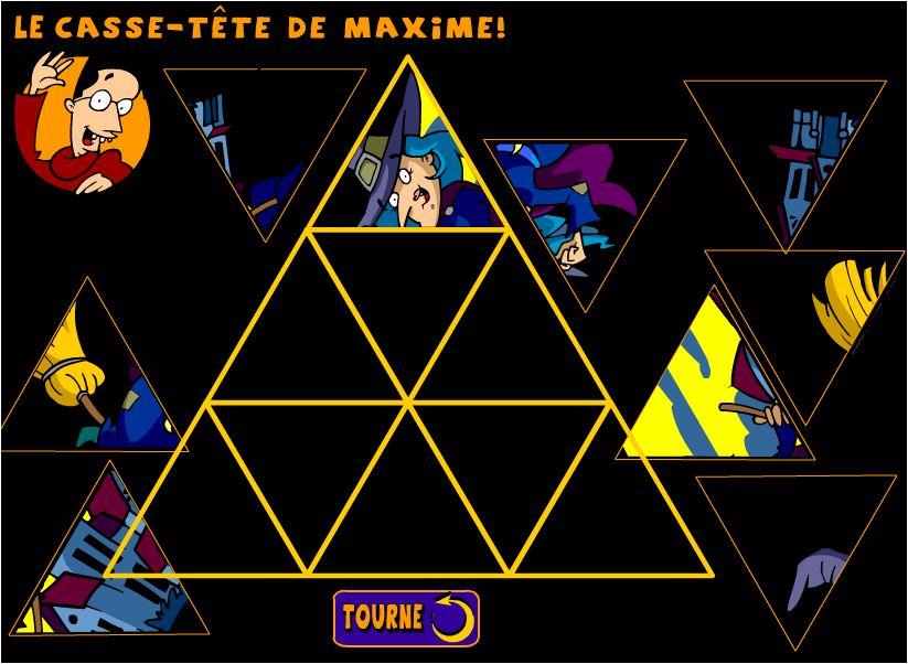chơi game xếp hình tam giác