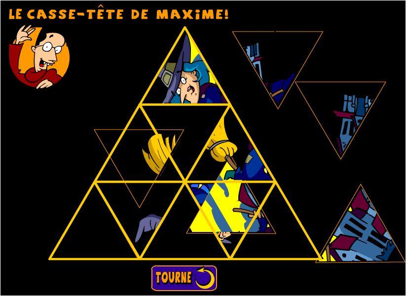 game xếp hình tam giác