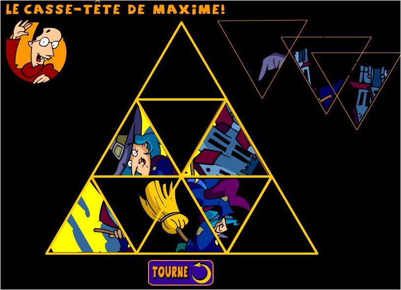 xếp hình tam giác