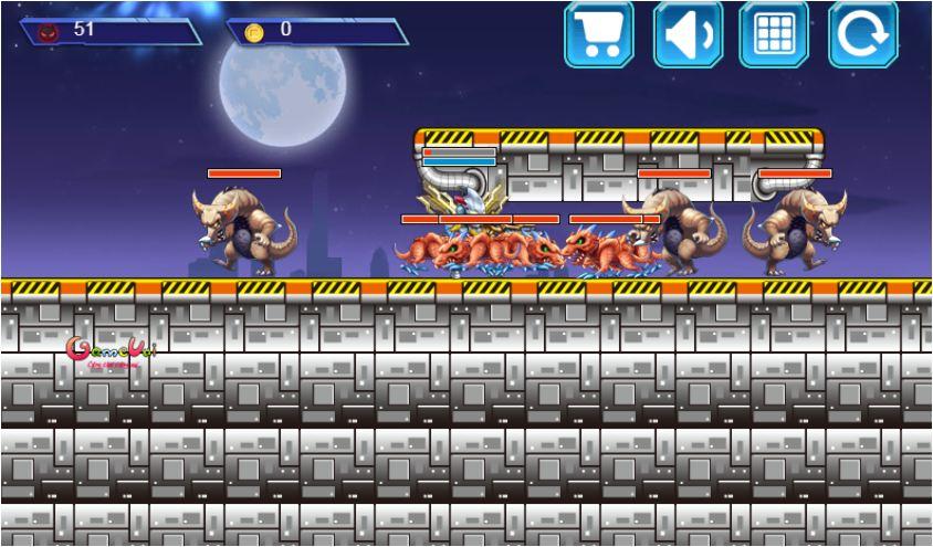 game siêu nhân chiến đấu