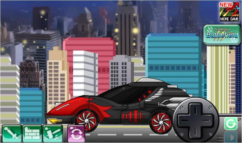 siêu xe biến hình